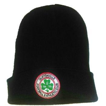 Plain Black Beanie Hat